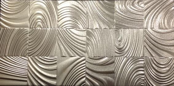 Foste Metallic Silver Spiral 300x600 RECT